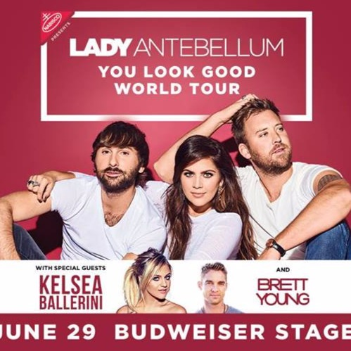 Lady Antebellum: You Look Good Tour 2017 at Budweiser Stage