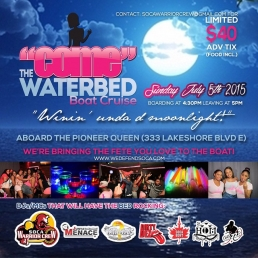 COME - THE WATERBED BOAT CRUISE 2015