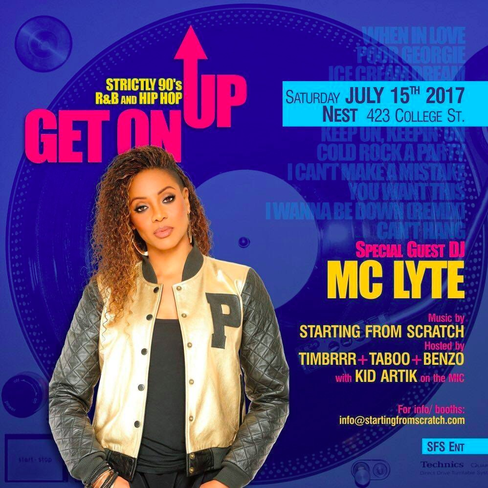 Get On Up feat MC Lyte 90s HIP HOP & R&B
