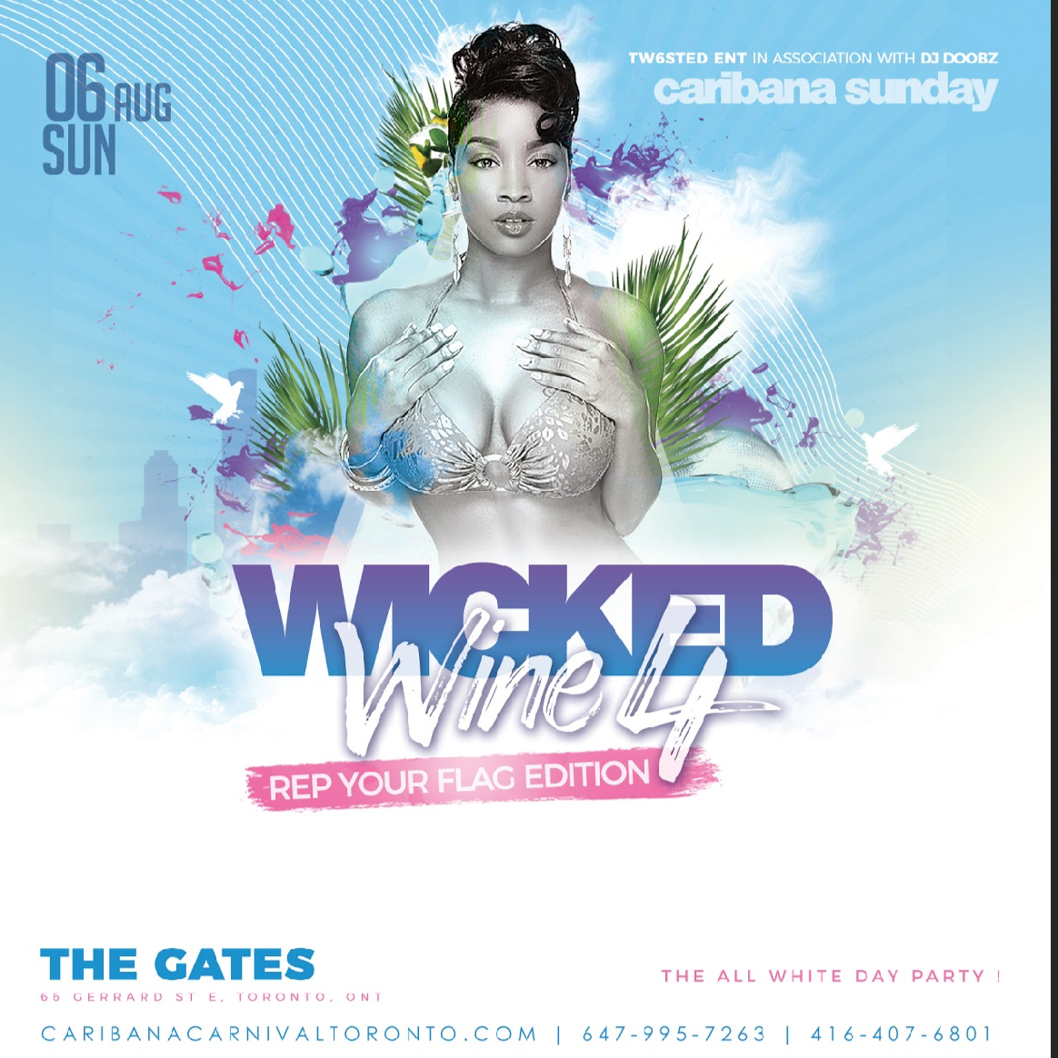 Wicked Wine 4: Rep Your Flag Edition  - Caribana Sunday