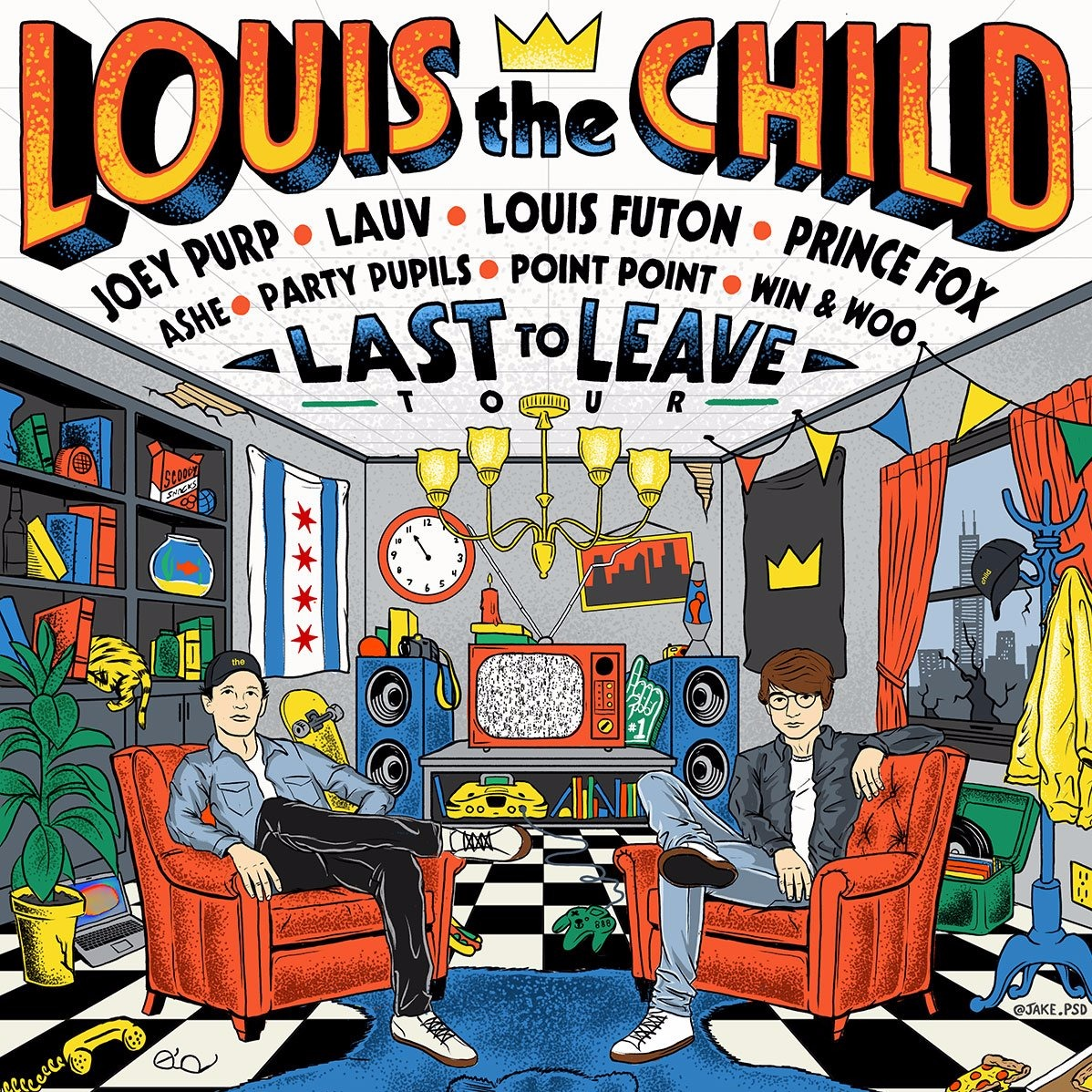 Louis The Child at Danforth Music Hall