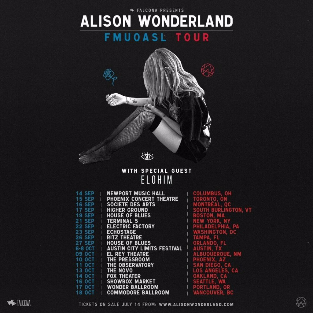 Alison Wonderland at Terminal 5