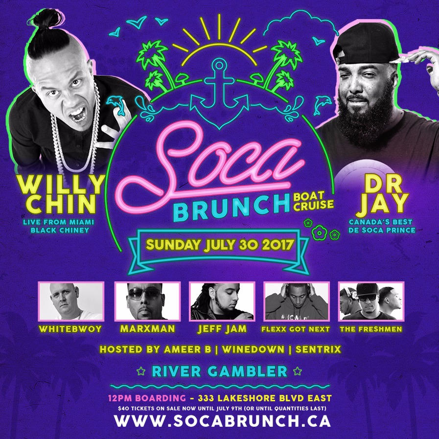 SOCA BRUNCH | Carnival Launch Boat Cruise