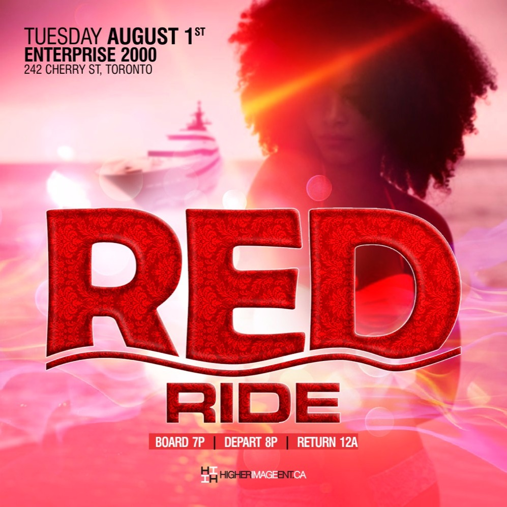 RED RIDE BOAT CRUISE 2017