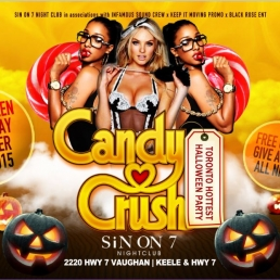 CANDY CRUSH HALLOWEEN PARTY
