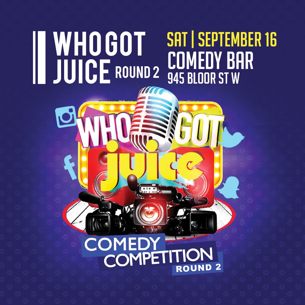 JUICE Comedy's Who Got Juice - Round 2 (Soul Food Comedy Festival 2017)