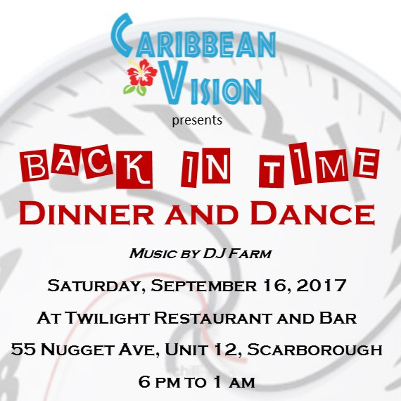 Back In Time | Dinner and Dance
