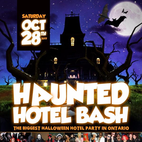 Haunted Hotel Bash | The Biggest Halloween Hotel Party In Toronto