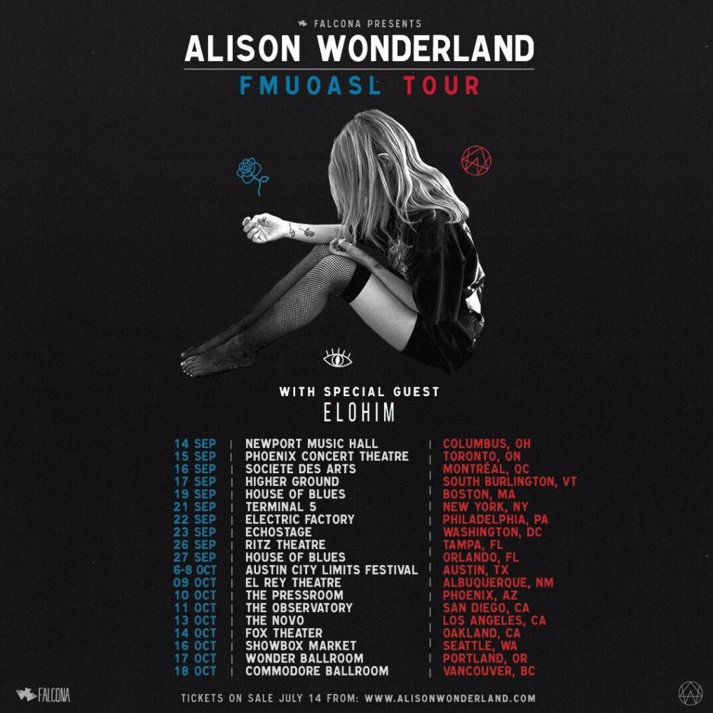 Alison Wonderland at Commodore Ballroom