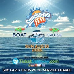 SUNSHOWER FETE 2015 - BOAT CRUISE