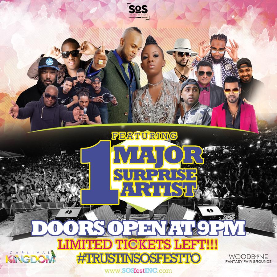 CARNIVAL KINGDOM 2017 | SOS Fest|Carnival Saturday's Biggest Concert Event