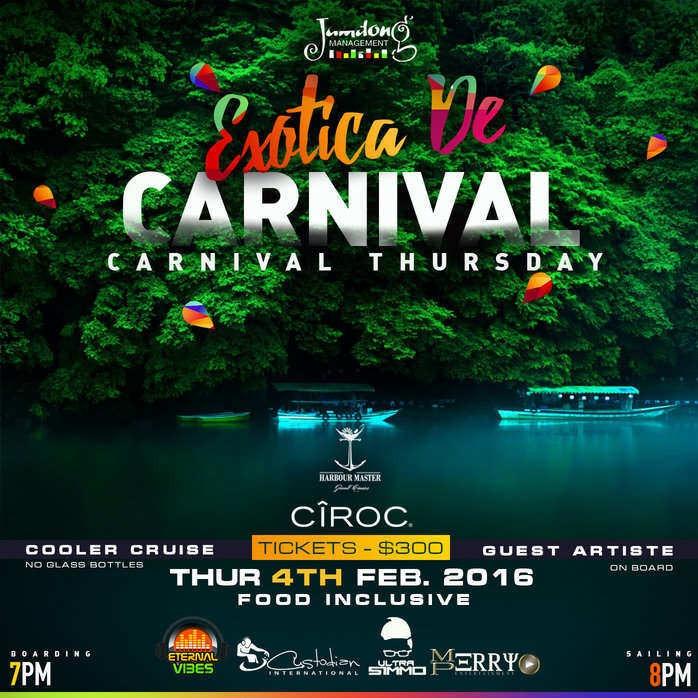 Exotica de Carnival Cruise