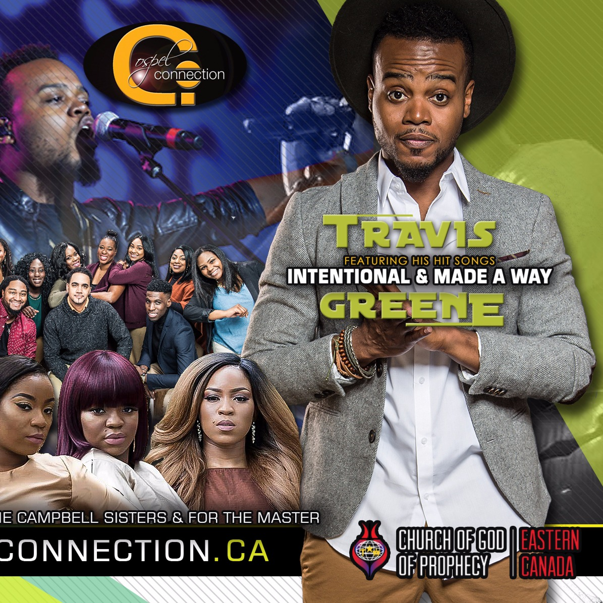 Travis Greene LIVE in Toronto