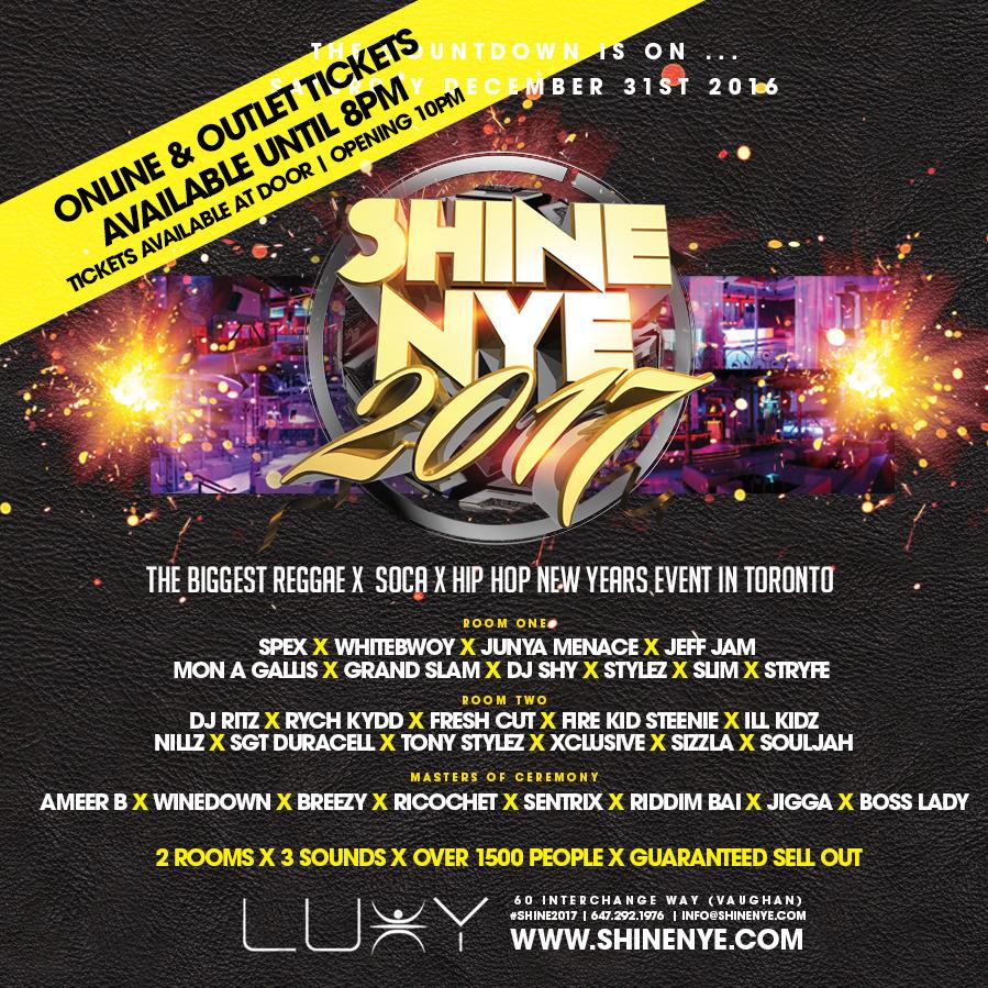 Shine NYE 2017