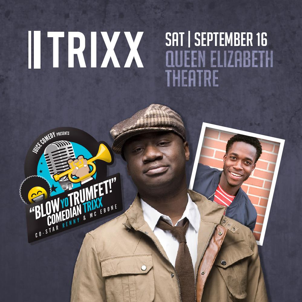 Blow Yo Trumfet - featuring Trixx & Renny  (Soul Food Comedy Festival 2017)
