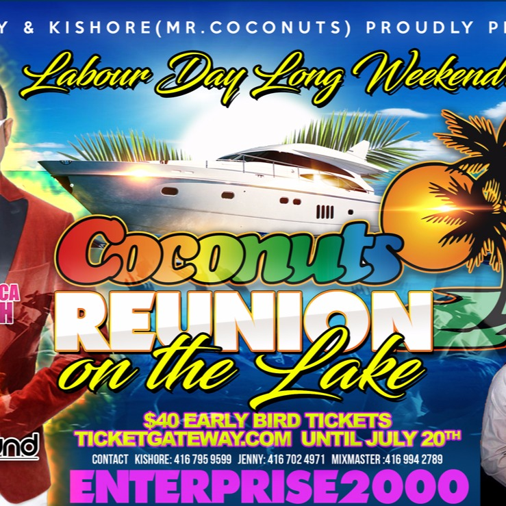 Coconuts Reunion on the Lake