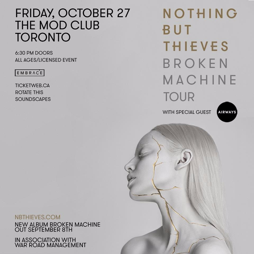 Nothing But Thieves at Mod Club Theatre