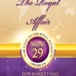 DINNER WITH THE KING - THE ROYAL AFFAIR