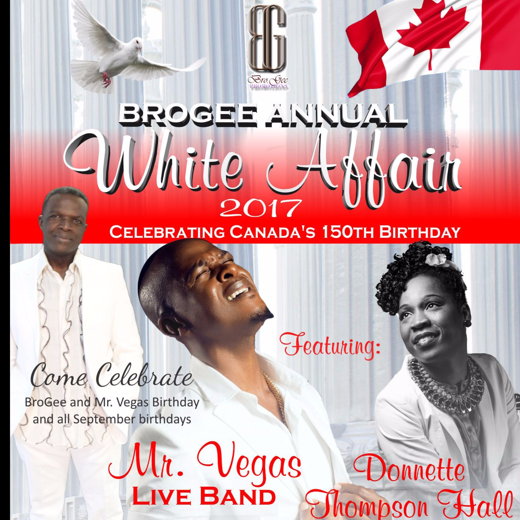 BROGEE ANNUAL WHITE AFFAIR 2017