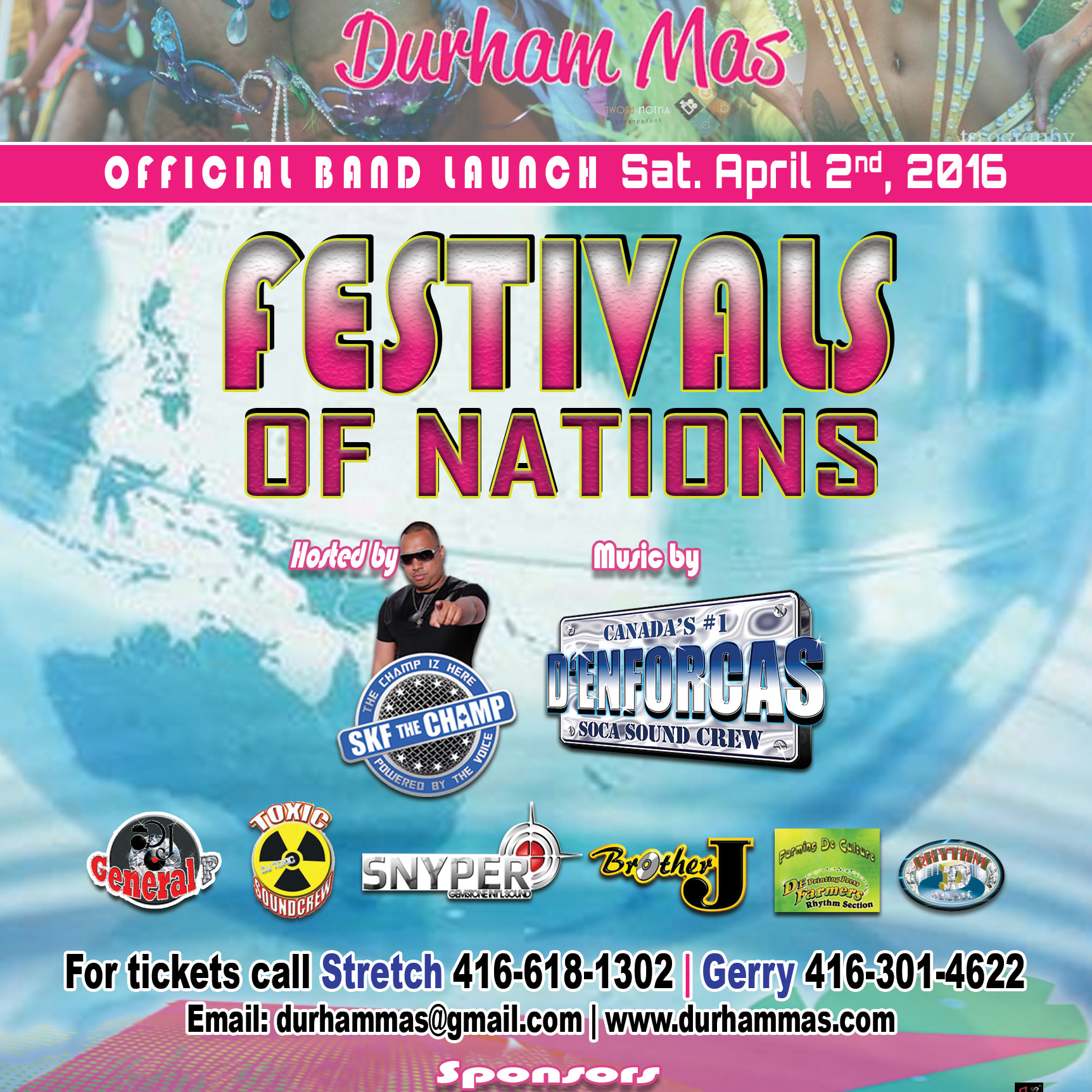 FESTIVALS OF NATIONS | DURHAM MAS OFFICIAL BAND LAUNCH
