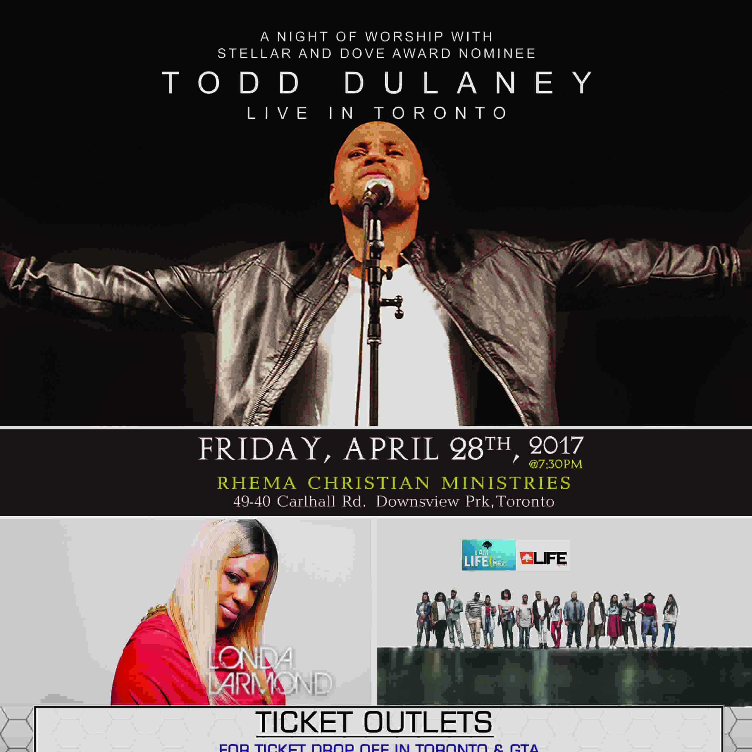 TODD DULANEY LIVE IN TORONTO