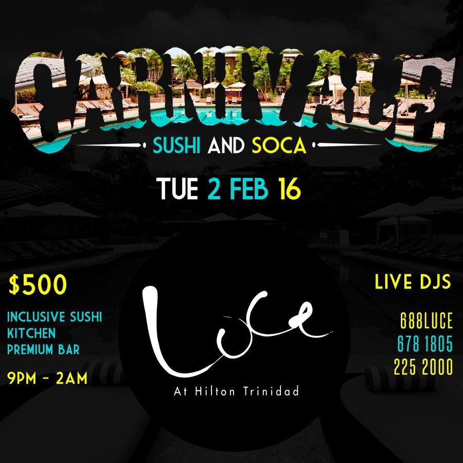 Carnivale - Sushi & Soca