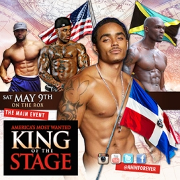 AMW KING OF THE STAGE - TORONTO - SAT MAY 9TH