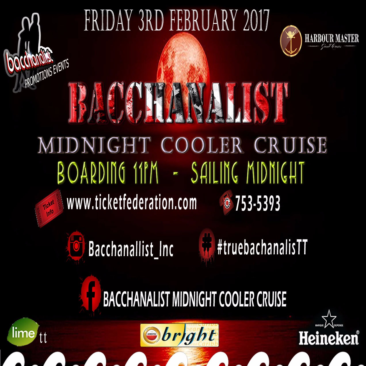 BACCHANALIST MIDNIGHT COOLER CRUISE
