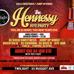 THE HENNESSY NYE PARTY