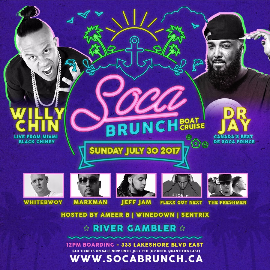SOCA BRUNCH | Carnival Launch Boat Cruise