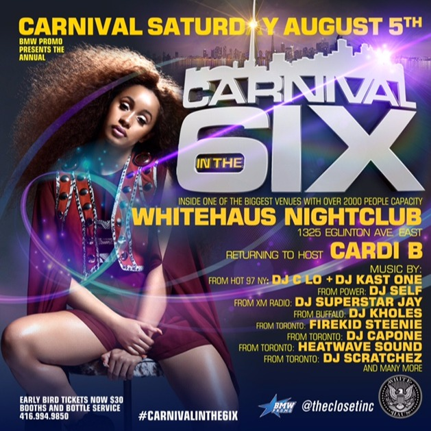 CARNIVAL IN THE 6IX 2017