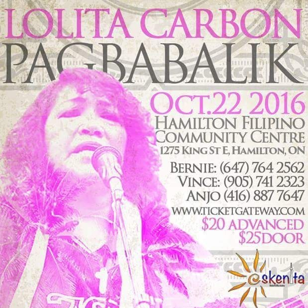 Ang Pagbabalik featuring Lolita Carbon (formerly of Asin)