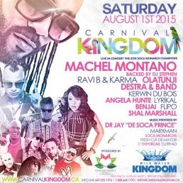 MACHEL MONTANO & FRIENDS-Carnival Kingdom Outdoor Concert Fete