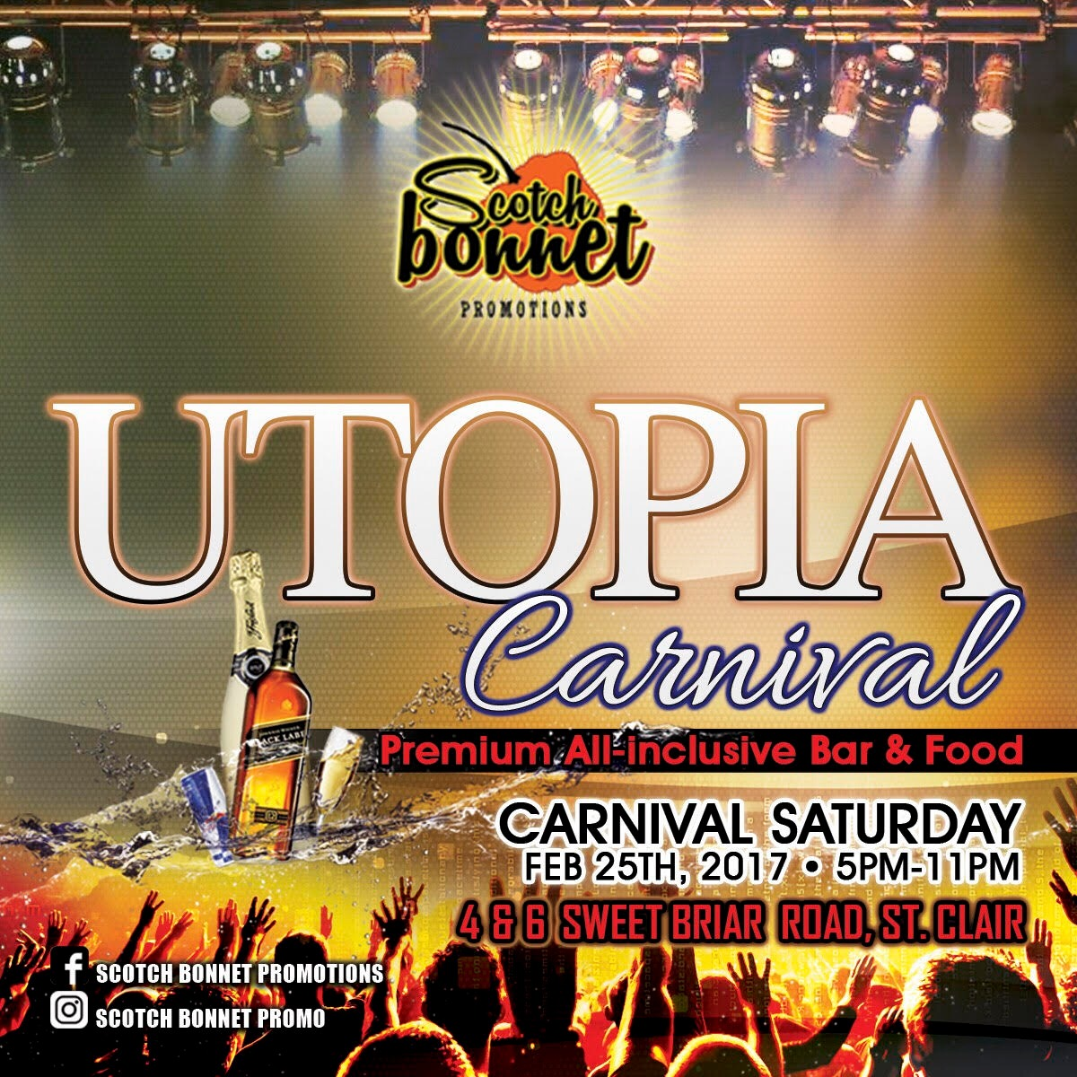 Utopia Carnival - All Inclusive 2017