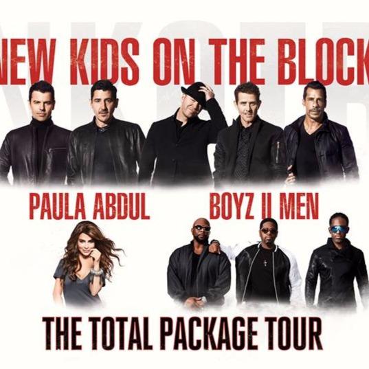 New Kids On The Block, Paula Abdul & Boyz II at Barclays Center