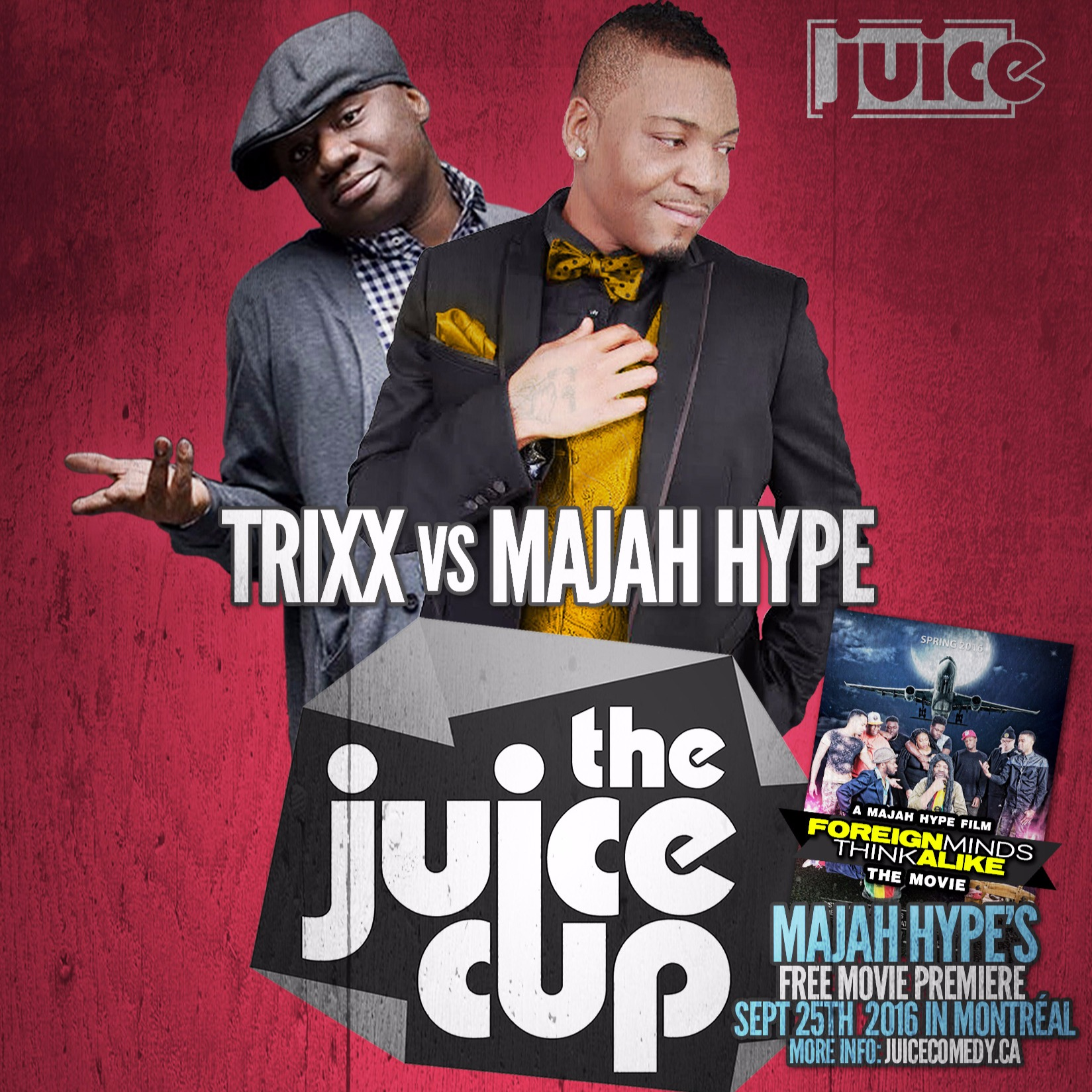 The JUICE Cup Africa Vs West Indies (Montreal)