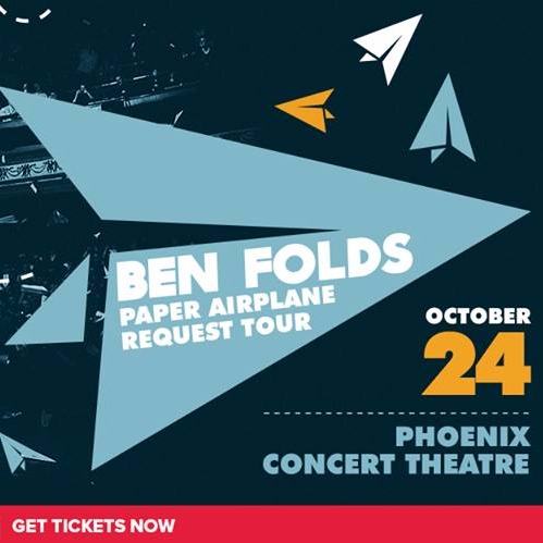Ben Folds - Paper Airplane Request Tour at Phoenix Concert Theatre