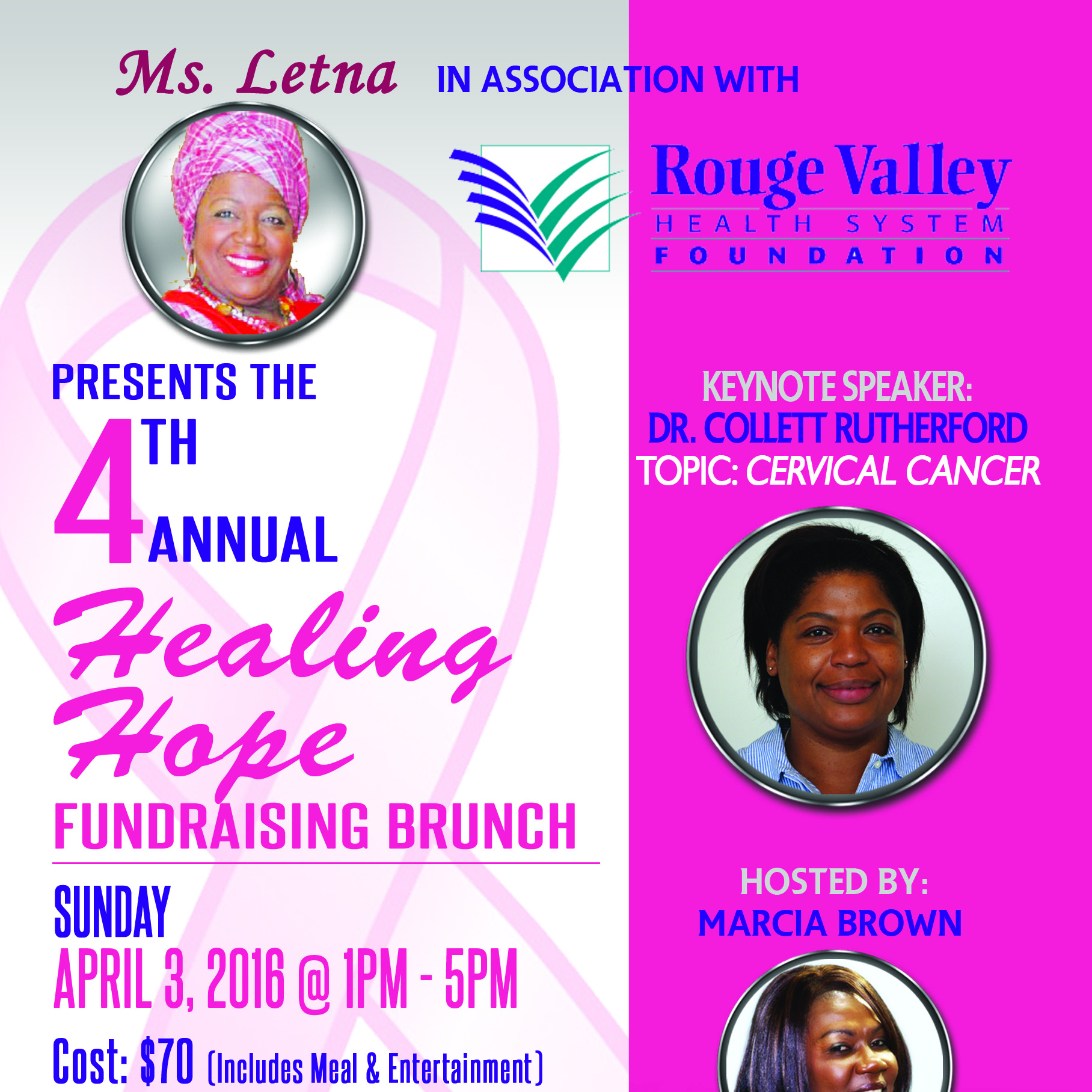The 4th Annual Healing Hope Fundraising Brunch