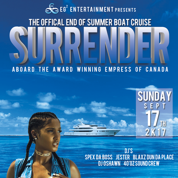 SURRENDER YOURSELF BOAT CRUISE