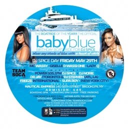 The Official BABY BLUE Birthday Boatride