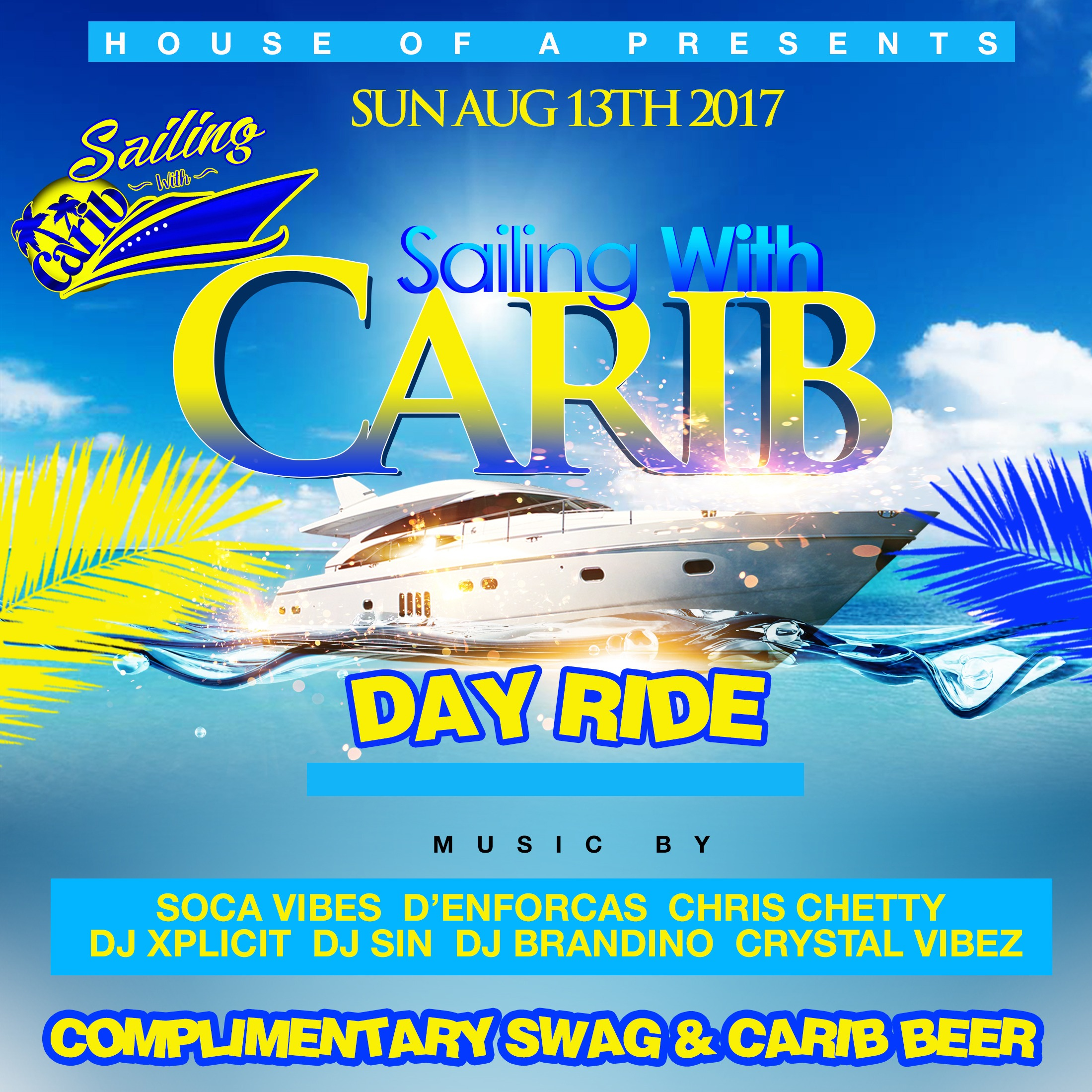 Sailing With Carib | Day Ride