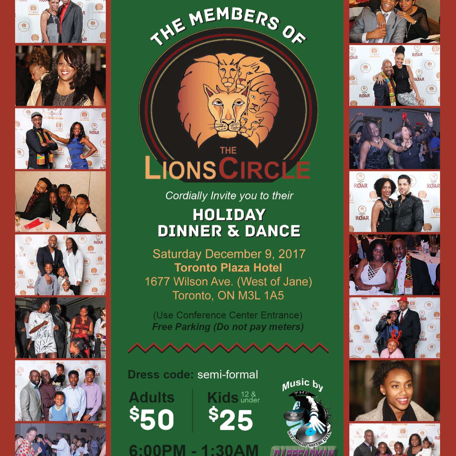 2017 LIONS CIRCLE HOLIDAY DINNER AND DANCE
