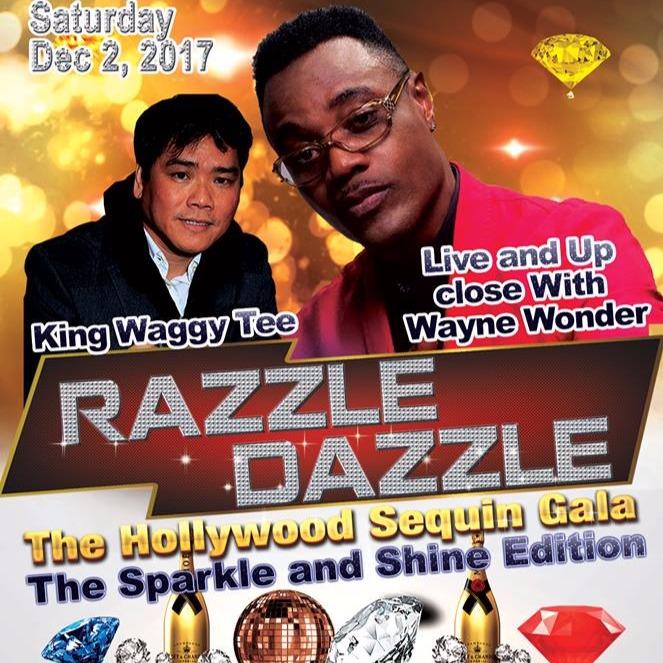 RAZZLE DAZZLE THE HOLLYWOOD SEQUIN GALA FEATURING WAYNE WONDER LIVE