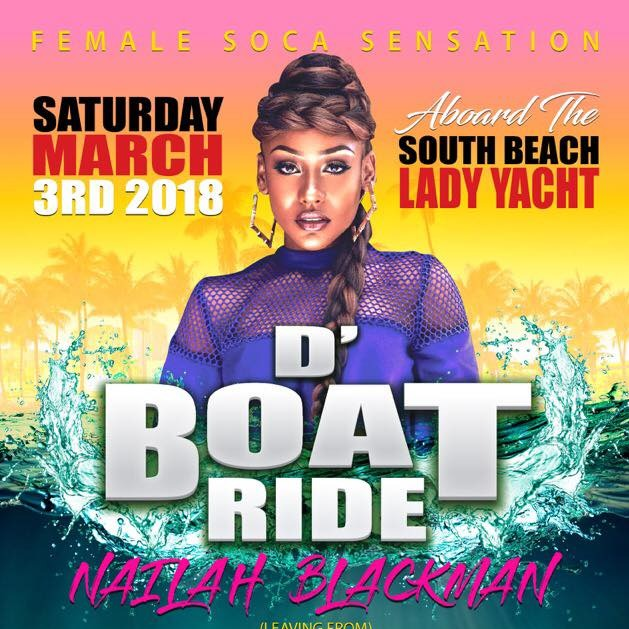 Nailah Blackman - Boatride