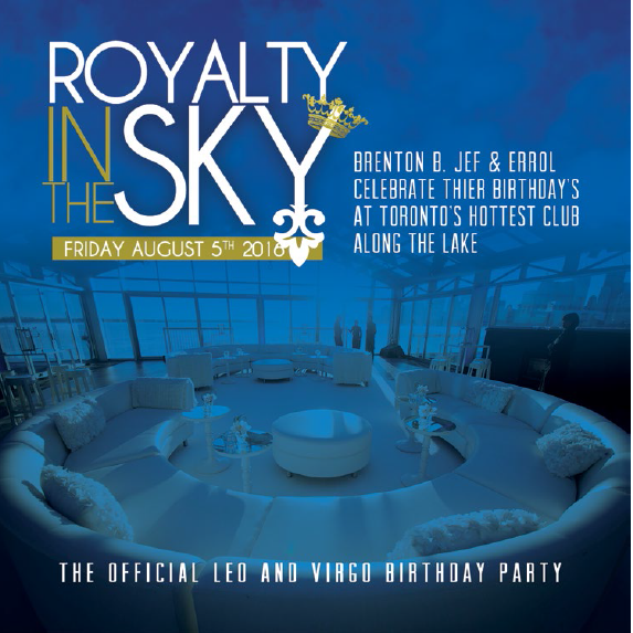 ROYALTY IN THE SKY 2016