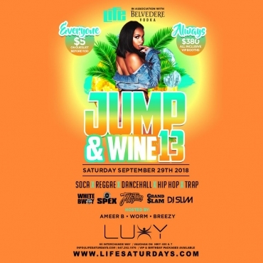 Life Saturday's - JUMP & WINE 13