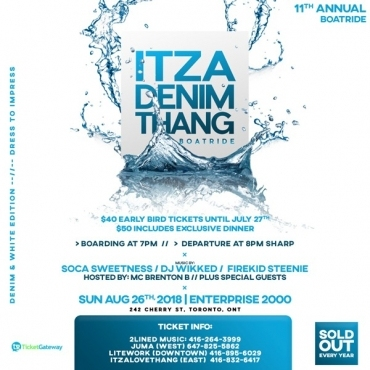 Itza Denim Thang Boatride