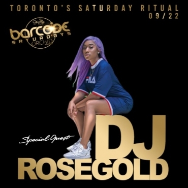 Barcode Saturdays ft Dj Rosegold