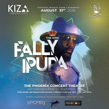 FALLY IPUPA - TOKOOS CANADIAN TOUR