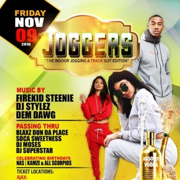 Joggers \ The Indoor Jogging And Track Suite Edition
